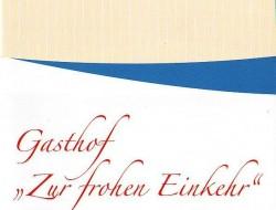 Gasthof Zur frohen Einkehr